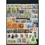 Годовой комплект марок, блоков и МЛ и ЛУФ 2004 года