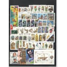 Годовой комплект марок и блоков 1993 года со стандартом
