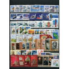 Годовой комплект марок, блоков, МЛ и ЛУФ 2006 года