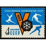 V зимняя спартакиада профсоюзов СССР.
